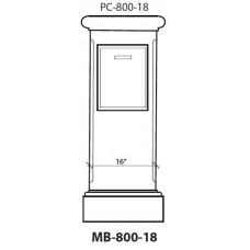 Mailbox 800-18